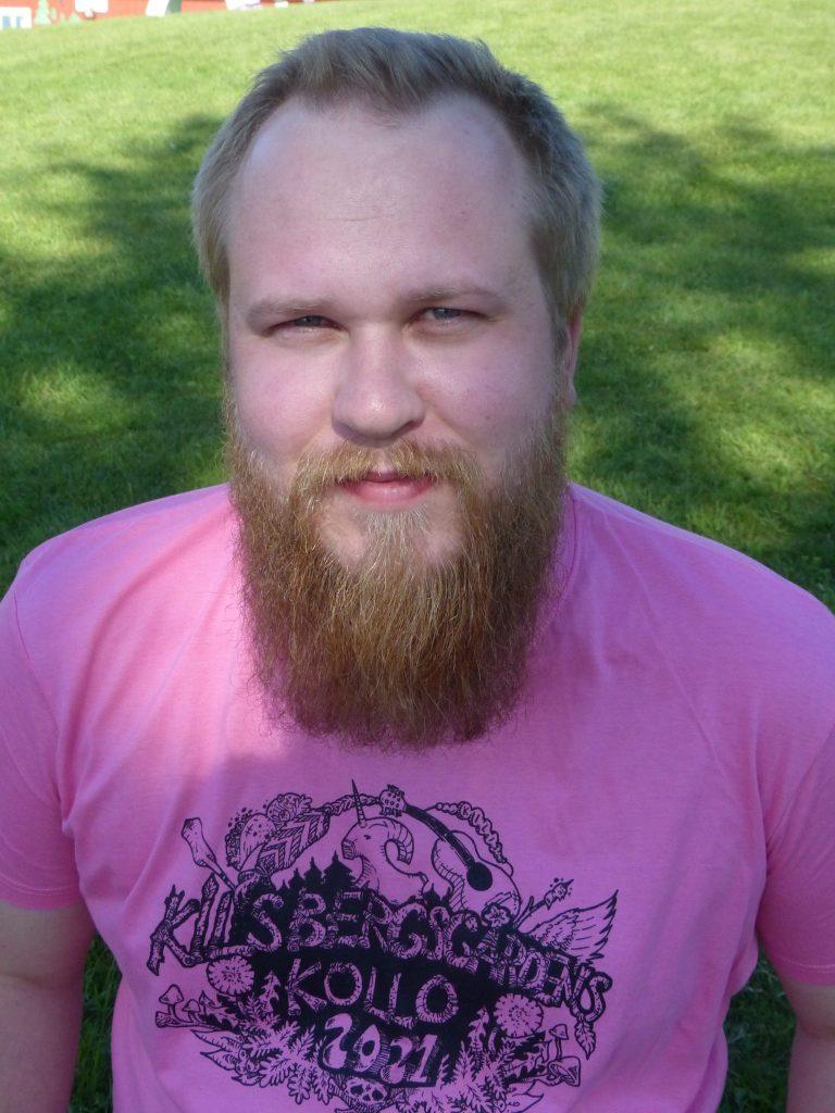 Sebastian (Basse-tasse-hasse-kasse) Dabnor Sommarkollopedagog