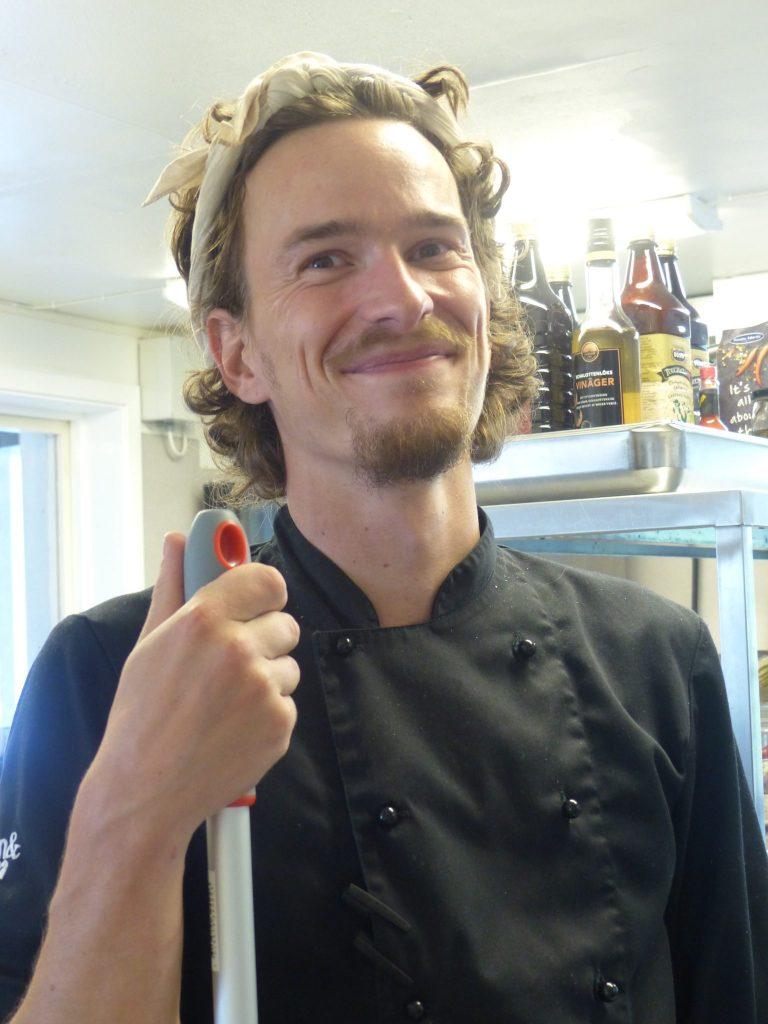 Dan (Nisse) Eriksson Chef due cousine
