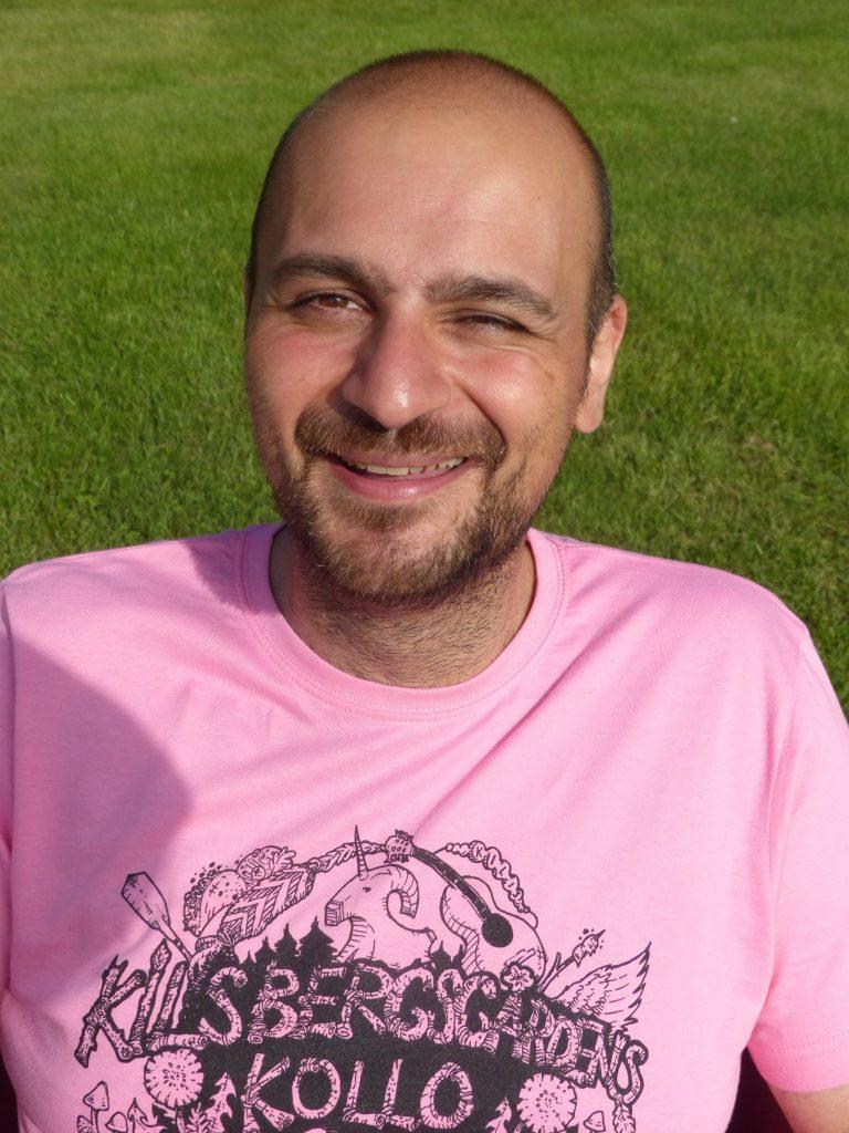 George (Yori) Magnusson Sommarkollopedagog